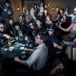 Gangster Pokerrunde