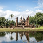 Tempelanlage, Thailand
