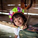 Besuch bei den Langhals Karen in Thailand